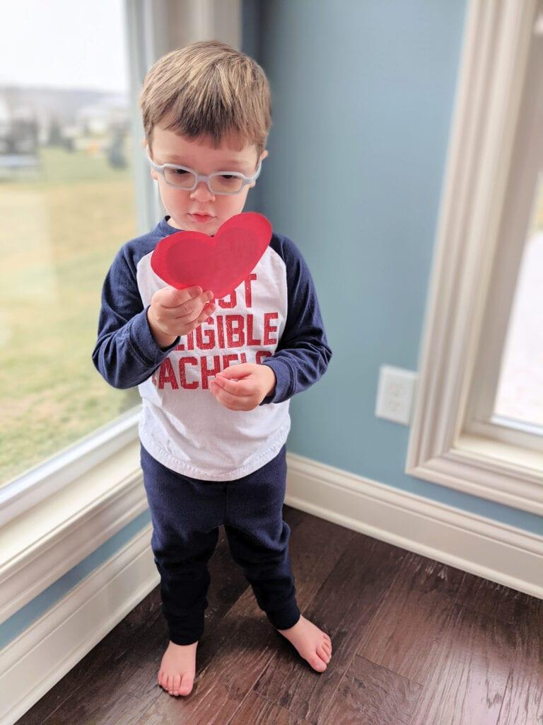 valentine scavenger hunt for kids