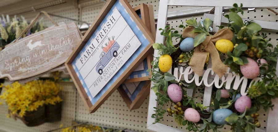 Big Lots Easter Decor In Stores