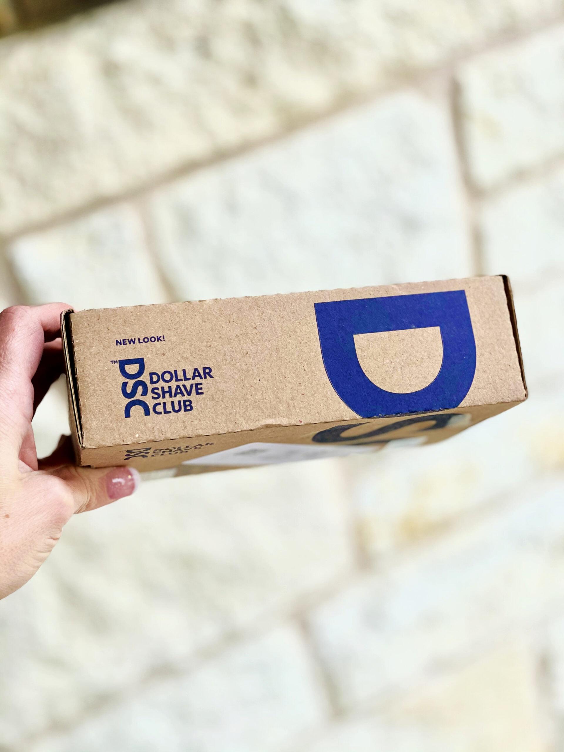 dollar shave club box