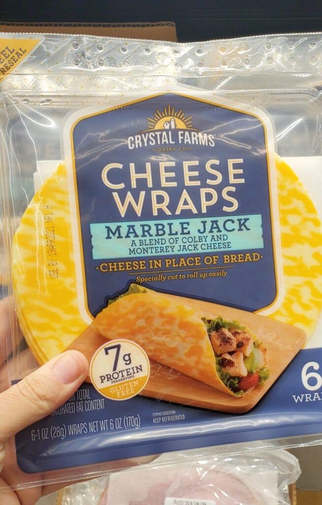 keto at aldi cheese wraps