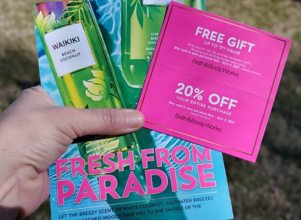 bath and body works coupons january