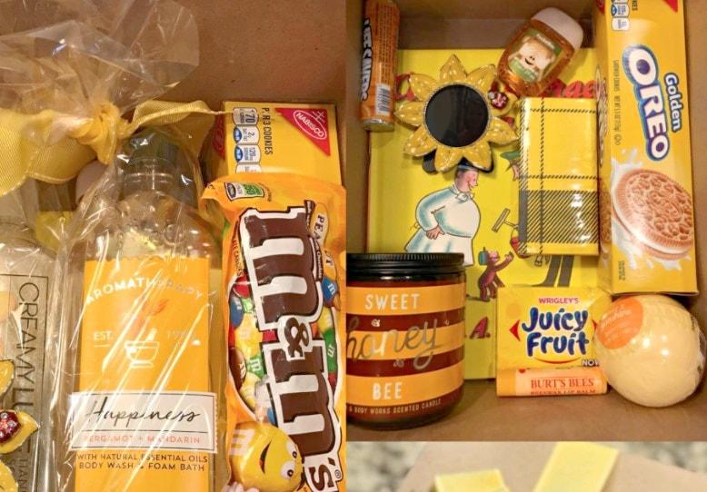box of sunshine gift