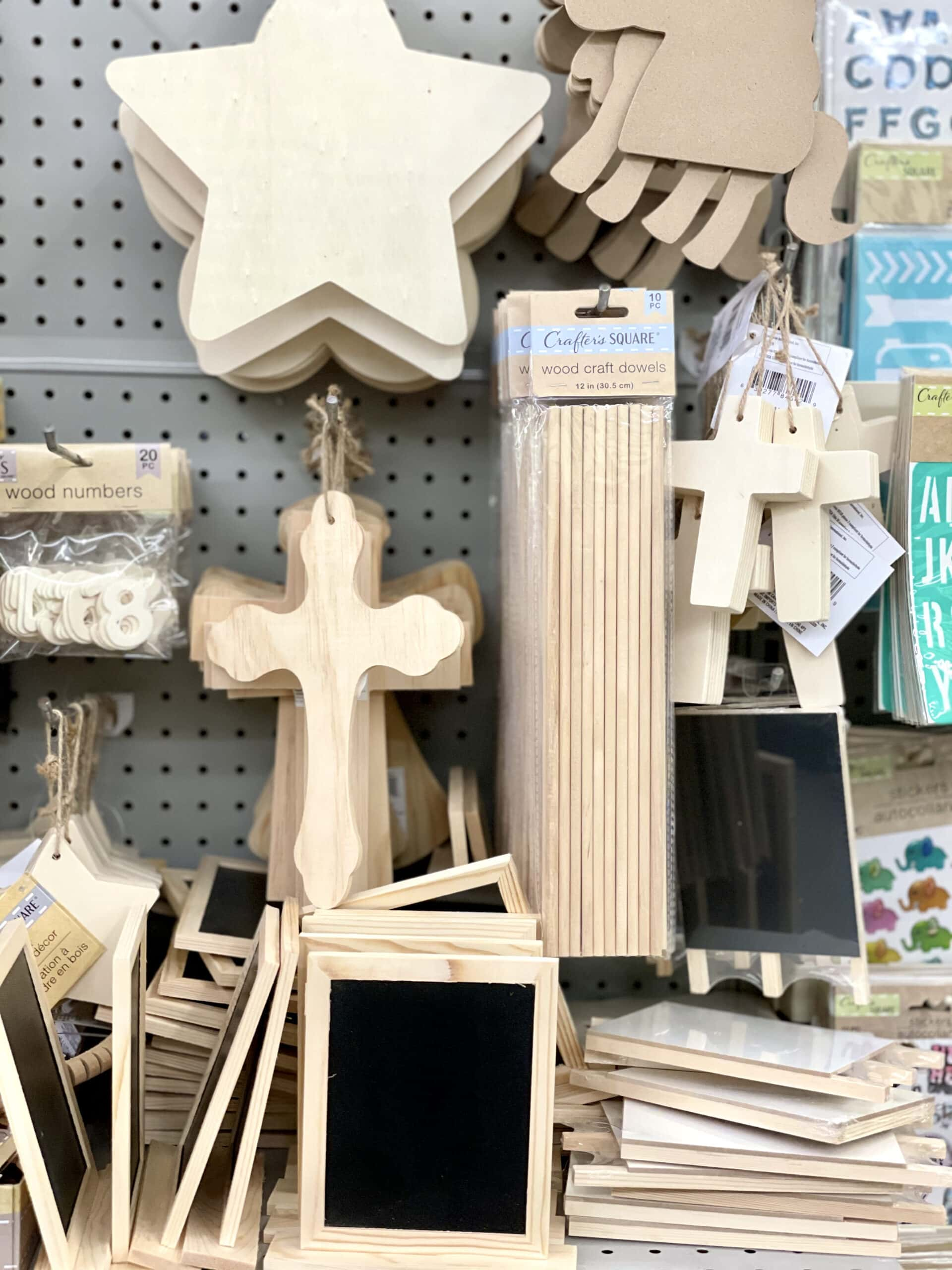 dollar tree craft supplies