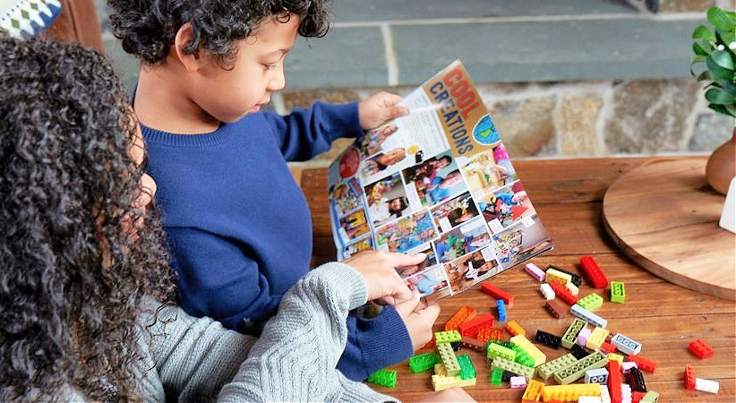 free lego magazine