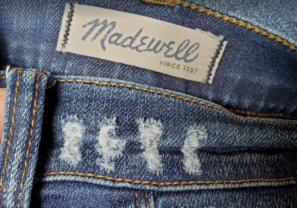 Madewell Promo Code for Jeans