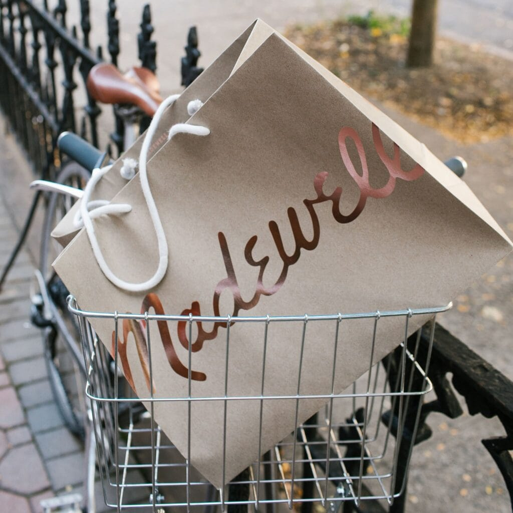Madewell Promo Code Shopping Bag in Bicycle