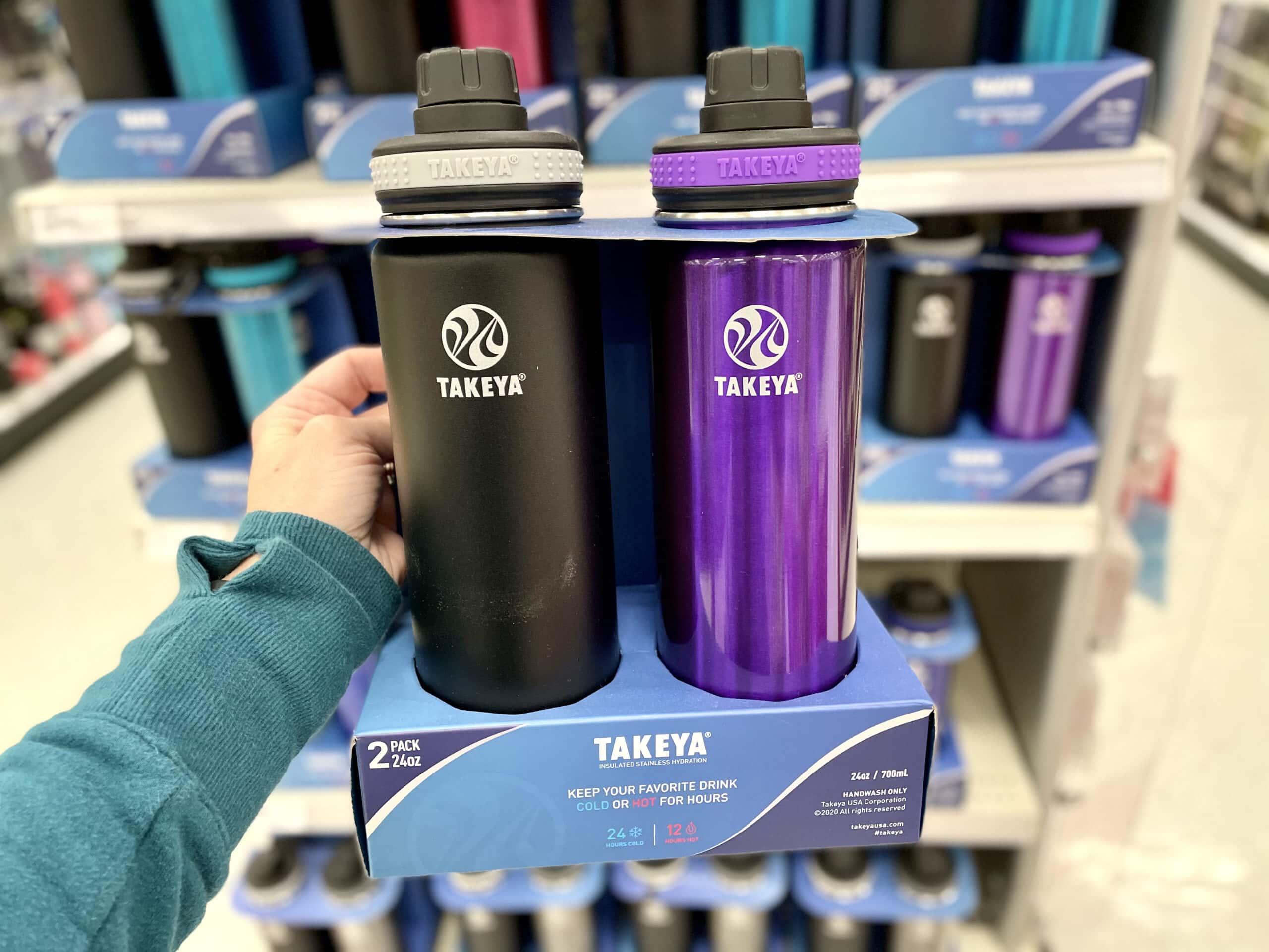 takeya water bottles