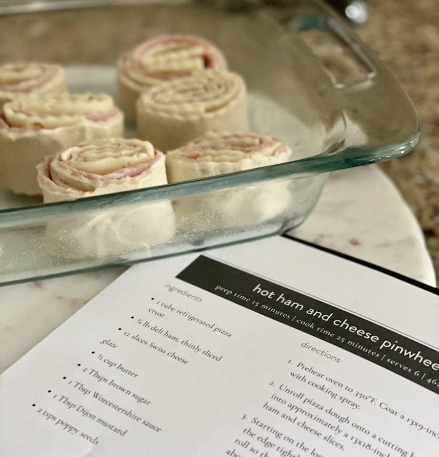 Ham and Cheese Pinwheel Recipes