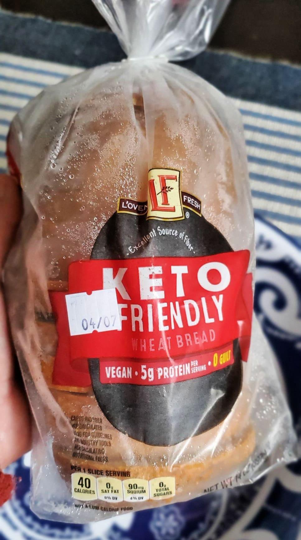 how to freeze aldi keto bread