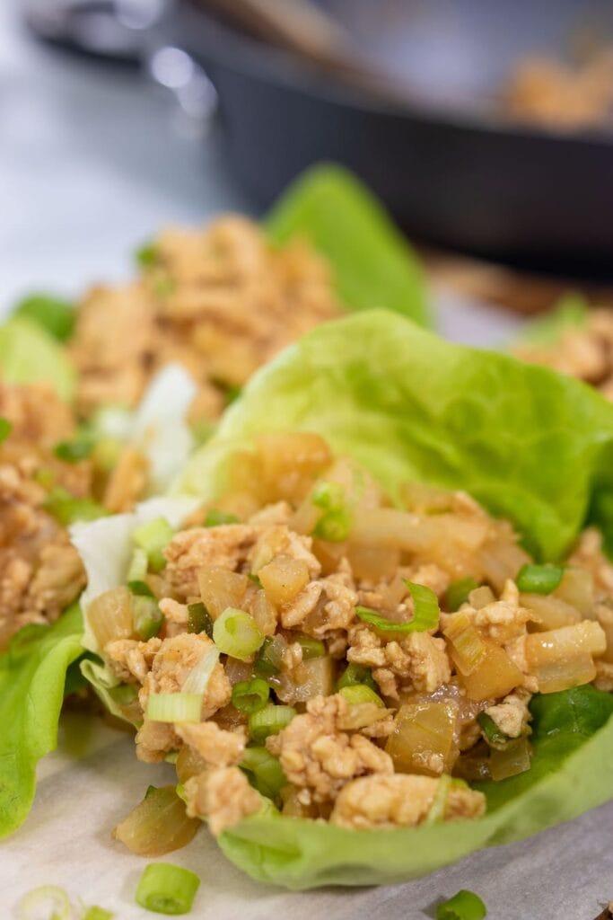 Copycat Chicken Lettuce Wraps