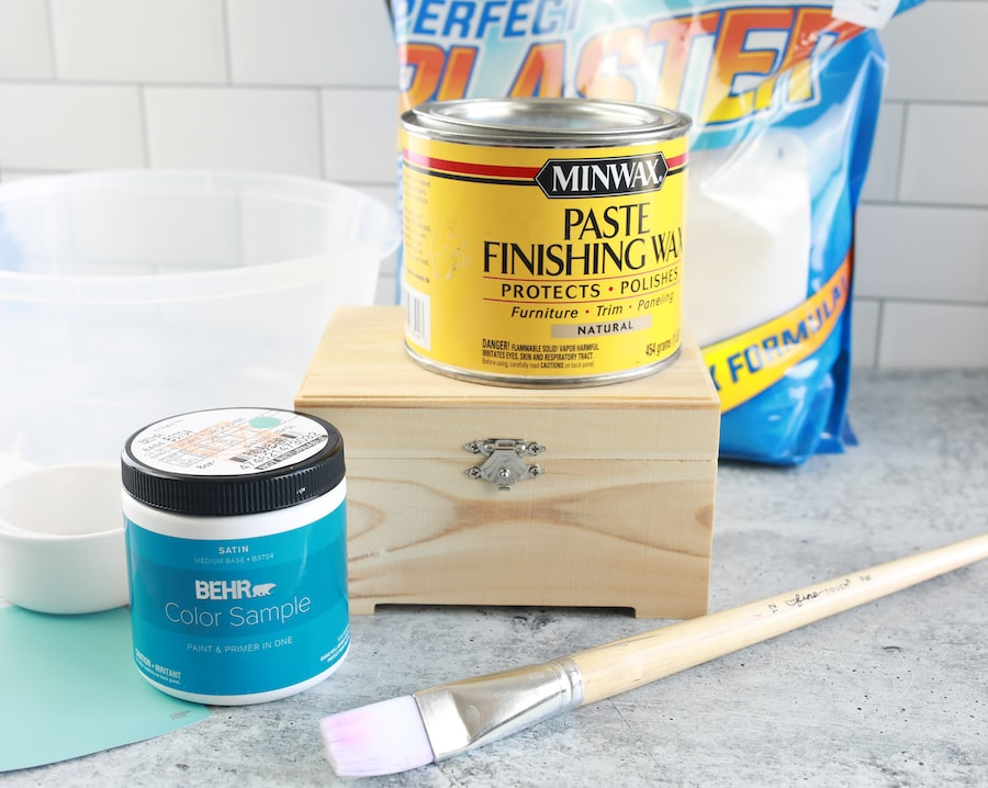 how to make chalk paint ingredients