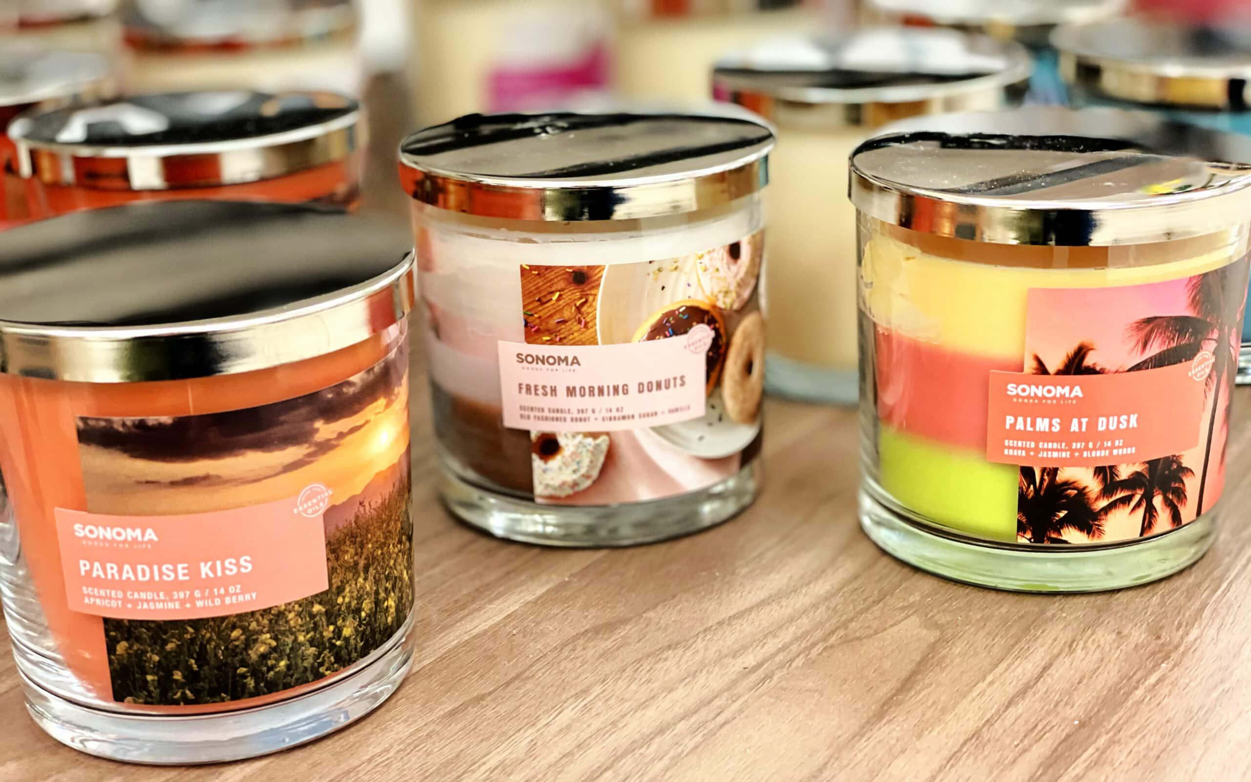 sonoma candles