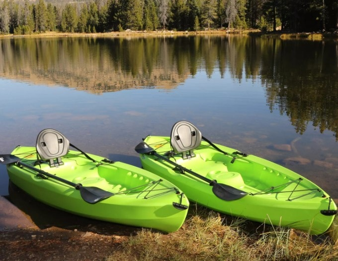 Sam's Club Kayaks for Sale 2 pack in green