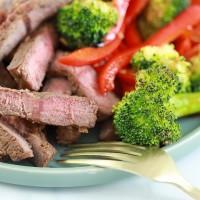 Asian Steak Marinade with Veggies (SO GOOD FOR SUMMER!)