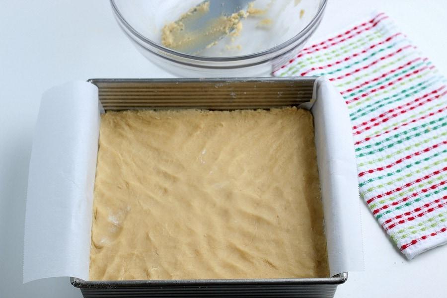 Vanilla Cookie Recipe in Pan
