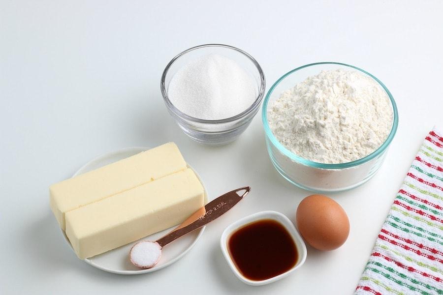 Basic Cookie Dough Ingredients