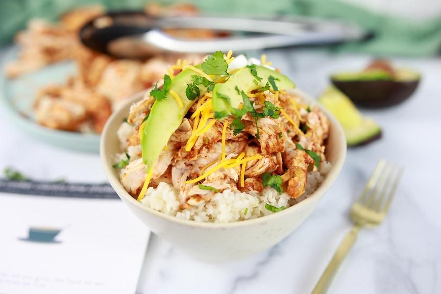cilantro lime chicken bowls