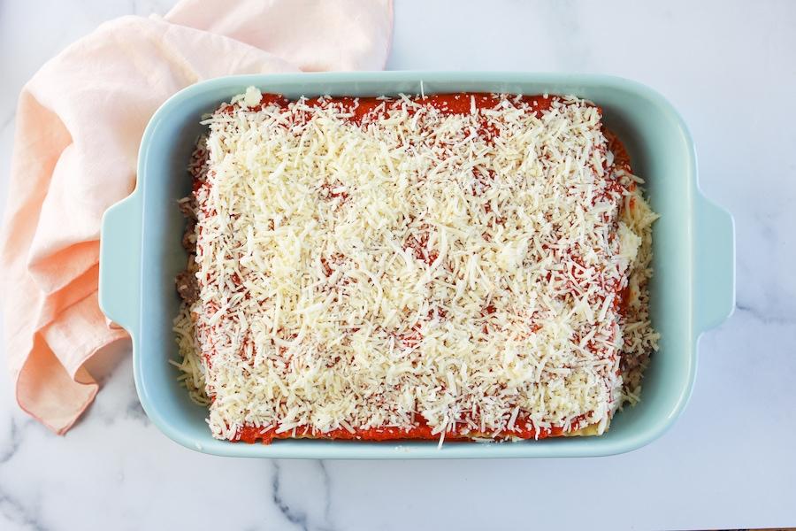 Layered Easy Lasagna