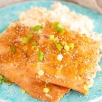 Orange Glazed Grilled Salmon Recipe (LOVE This One!)