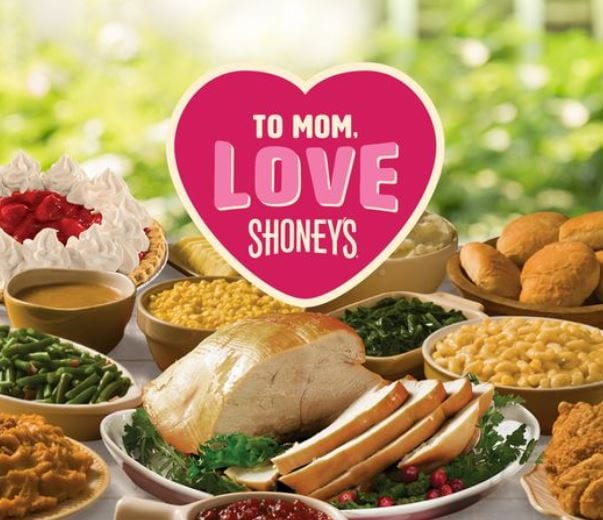 Shoney's Mother's Day Specials