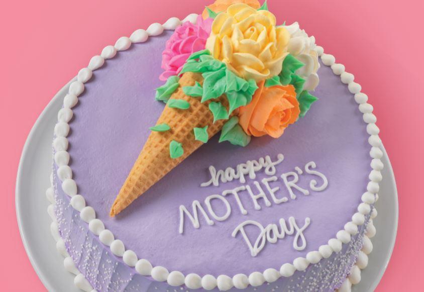Mother's Day Cake at Baskin Robbins