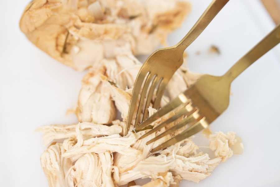 Shredding Chicken with a Fork