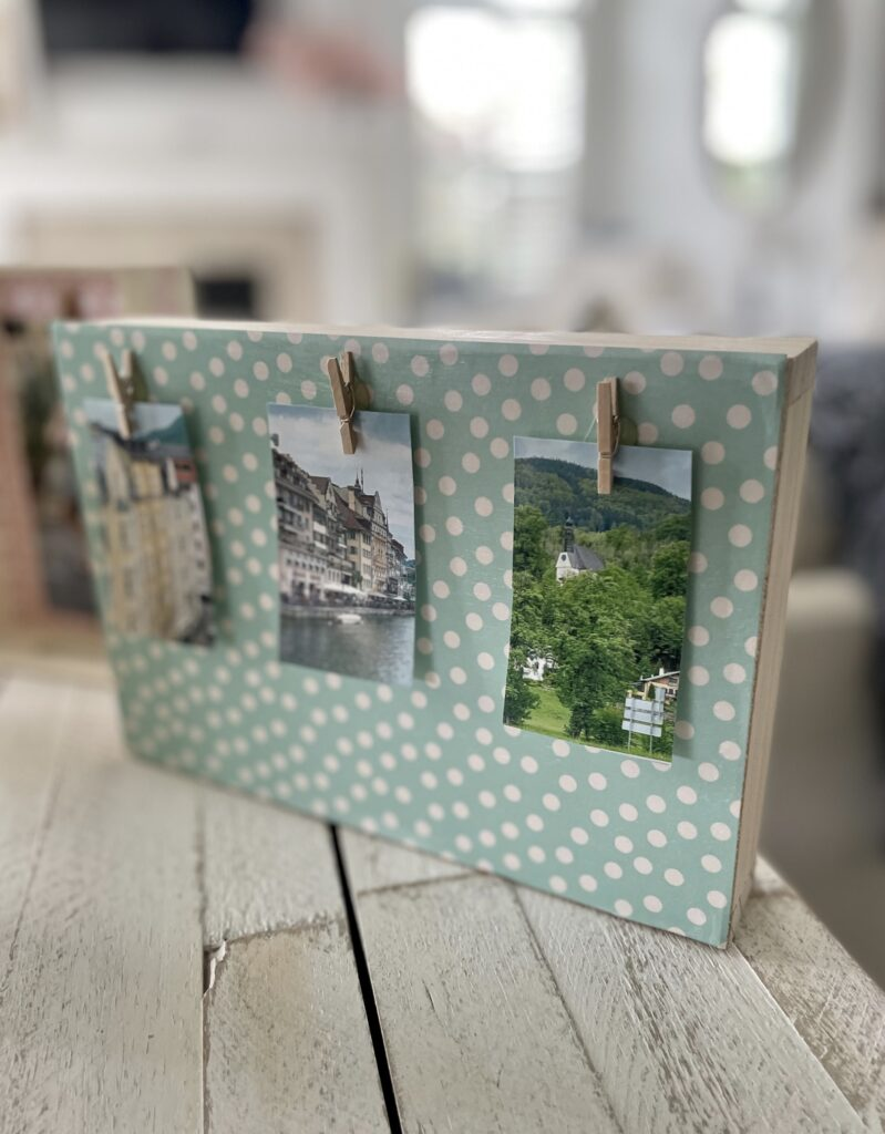 crafting at the dollar tree with photos
