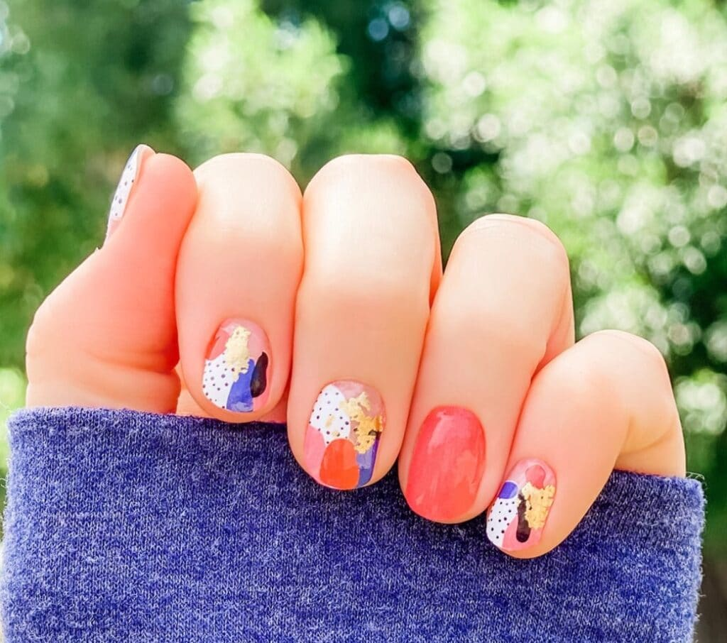 Nail Wraps for Summer