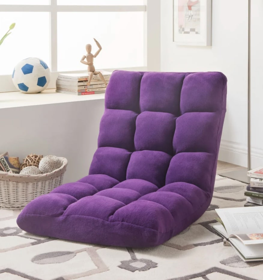 Loungie Chair in Purple