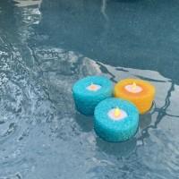 DIY Floating Pool Lights (So fun for Summer!)