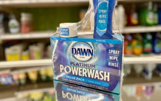 dawn powerwash