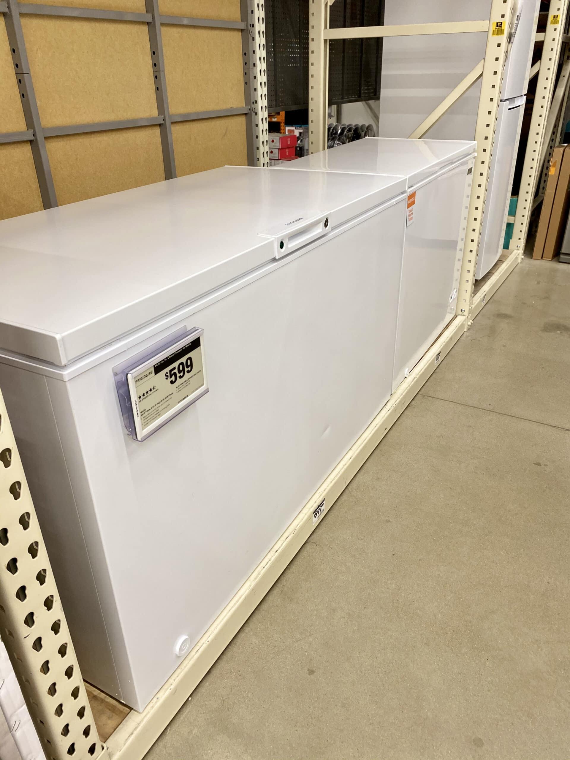 deep freeze - scratch and dent appliances