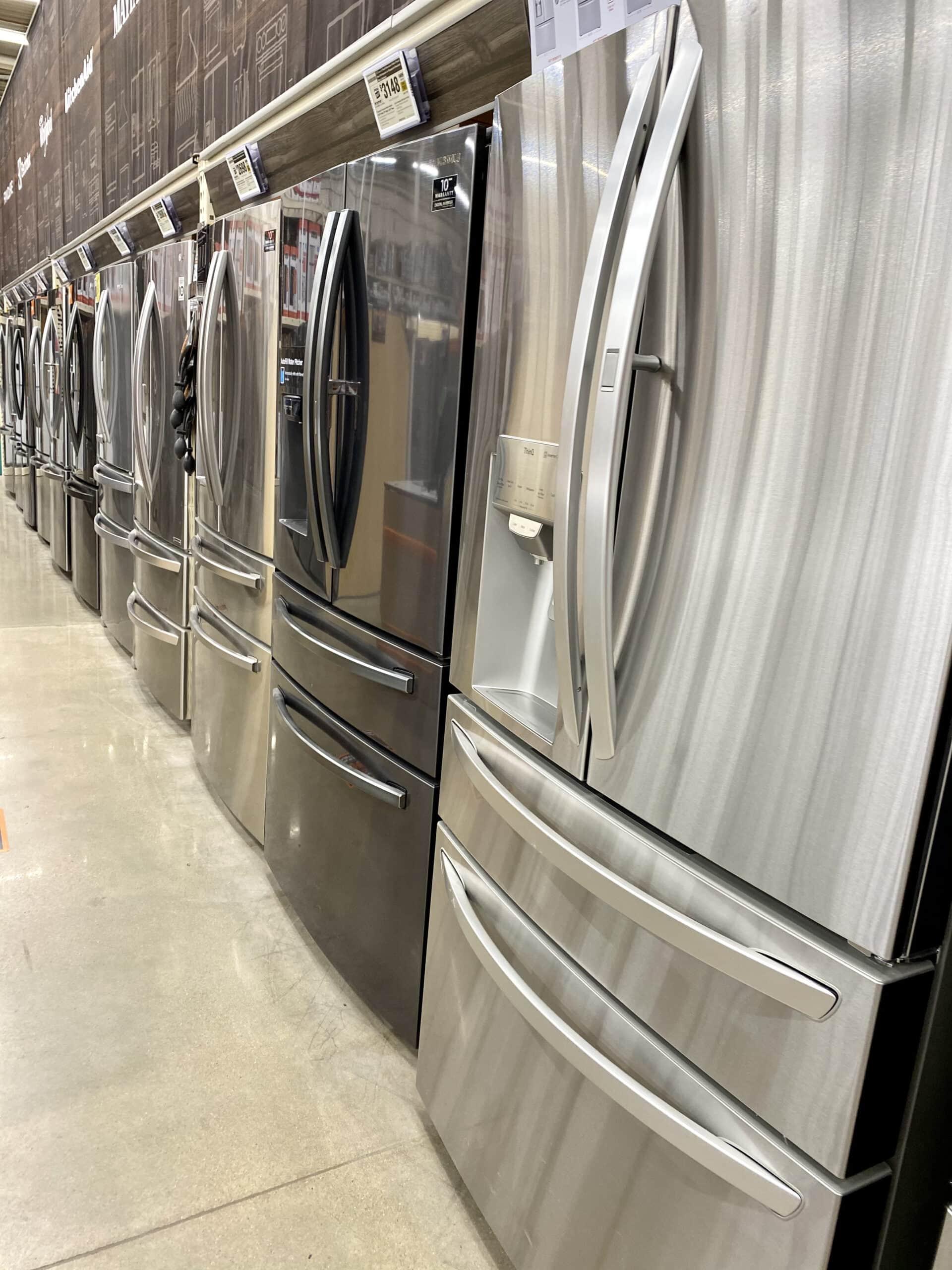 refrigerators - scratch and dent appliances