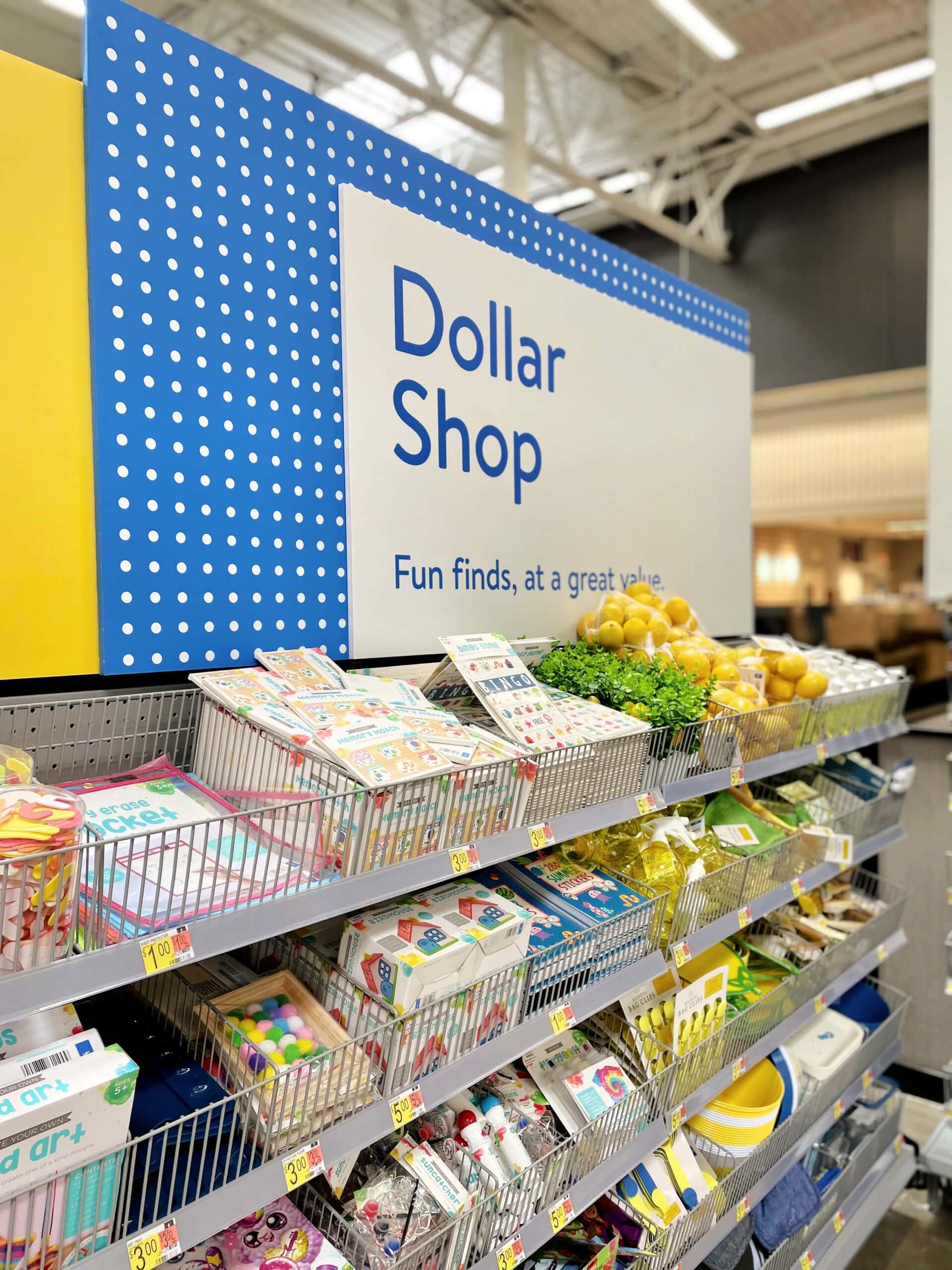 walmart dollar shop