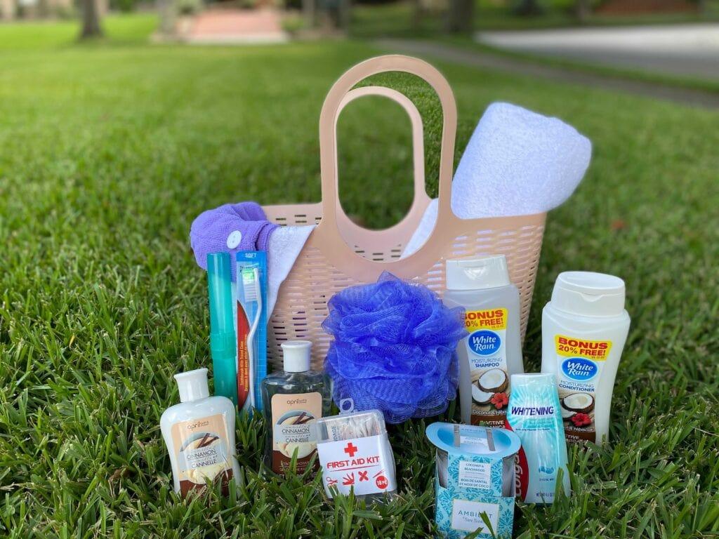 college shower tote gift idea