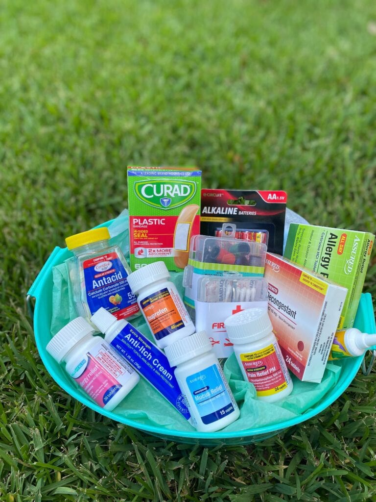 college first aid kit gift