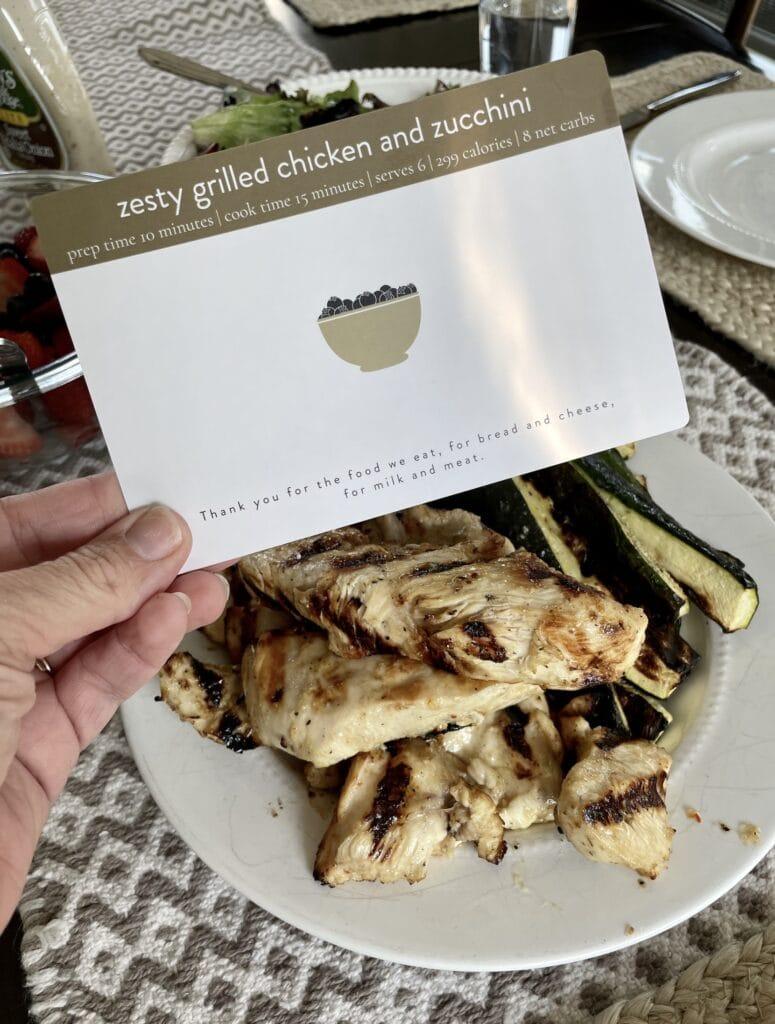 Zesty Grilled Chicken and Zucchini Recipe