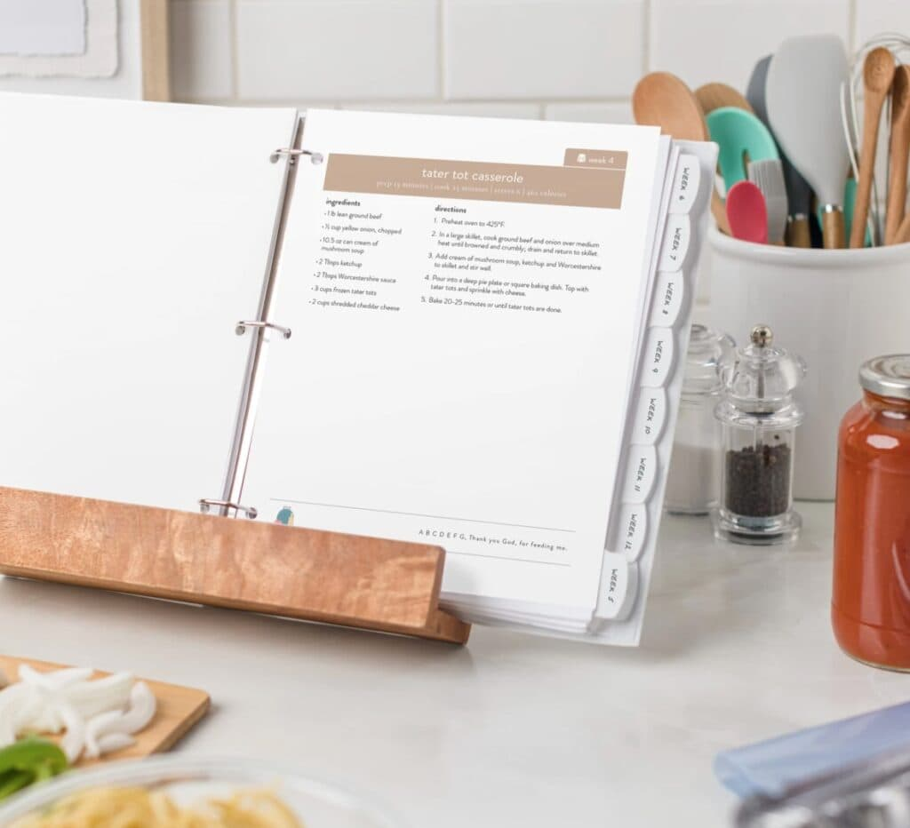 lunch menu planning made easy pdf