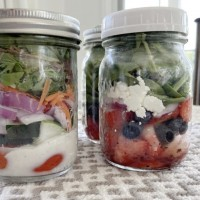 Mason Jar Salad: Make these today (so easy, and you'll save a bundle too!)