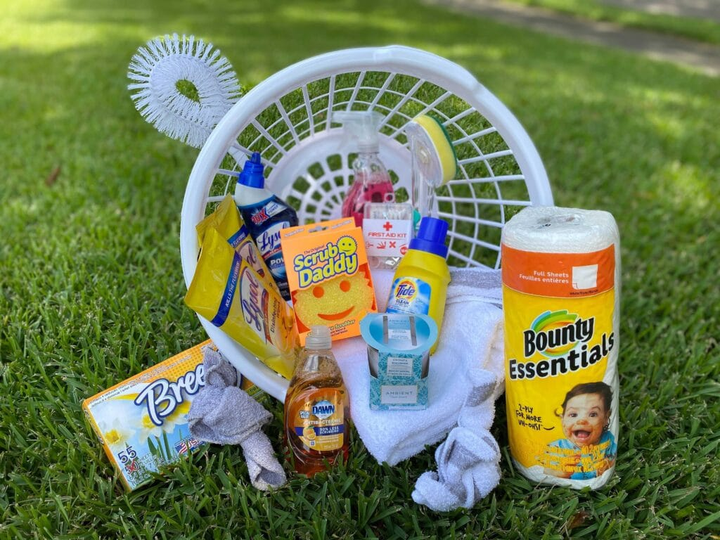 college gift baskets from dollar tree