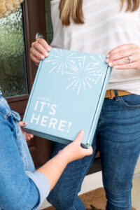 2022 Home Planner - It's Here Box with little girl