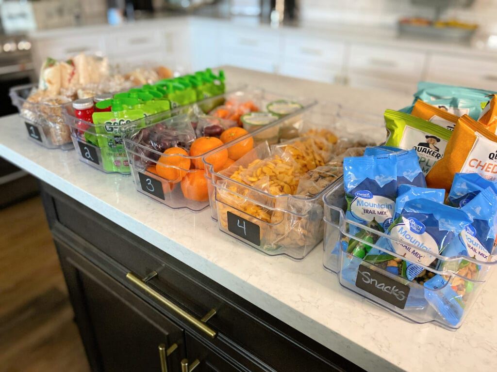 lunchbox and snack ideas for kids