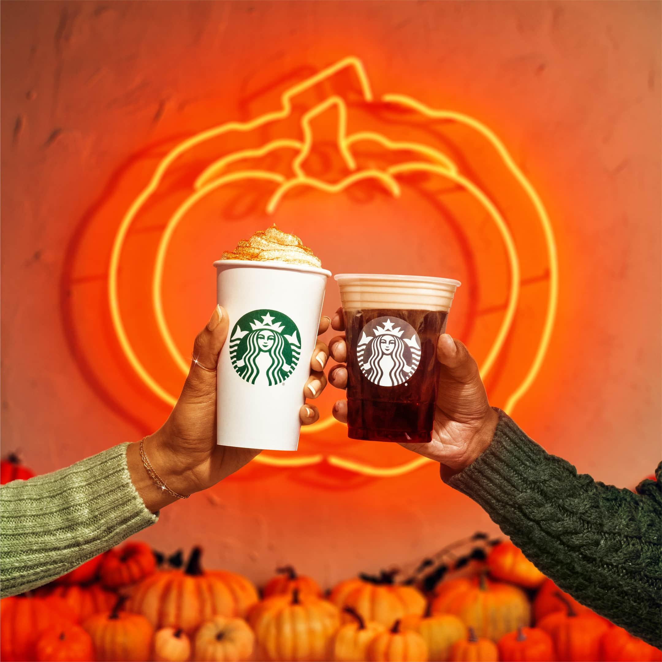 starbucks pumpkin drinks