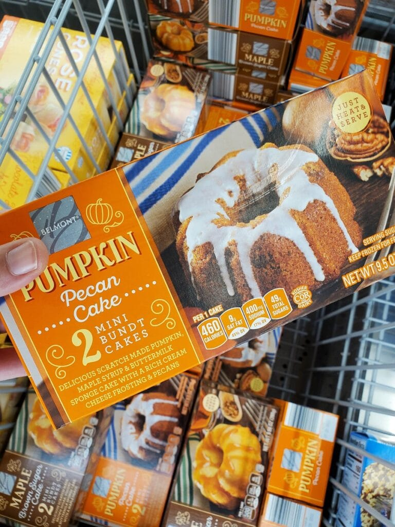 Aldi Fall Finds Mini Bundt Cake