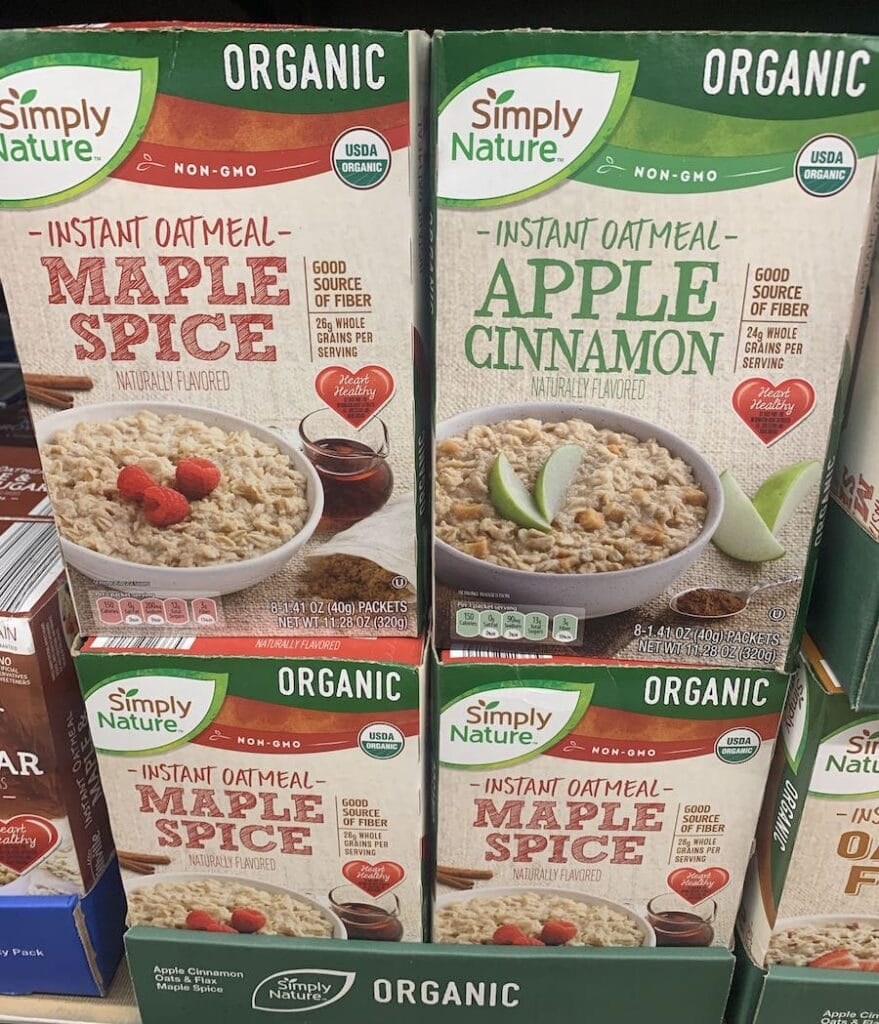 Spiced Instant Oatmeal