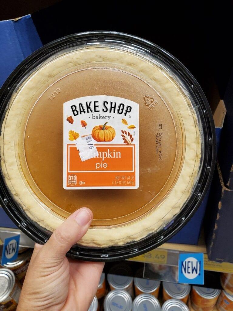 Aldi Pumpkin Pie