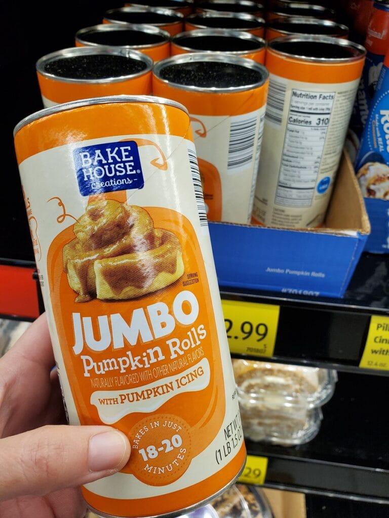 Pumpkin Biscuits at Aldi