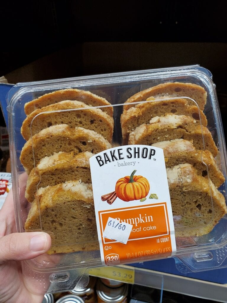 Pumpkin Loaf at Aldi