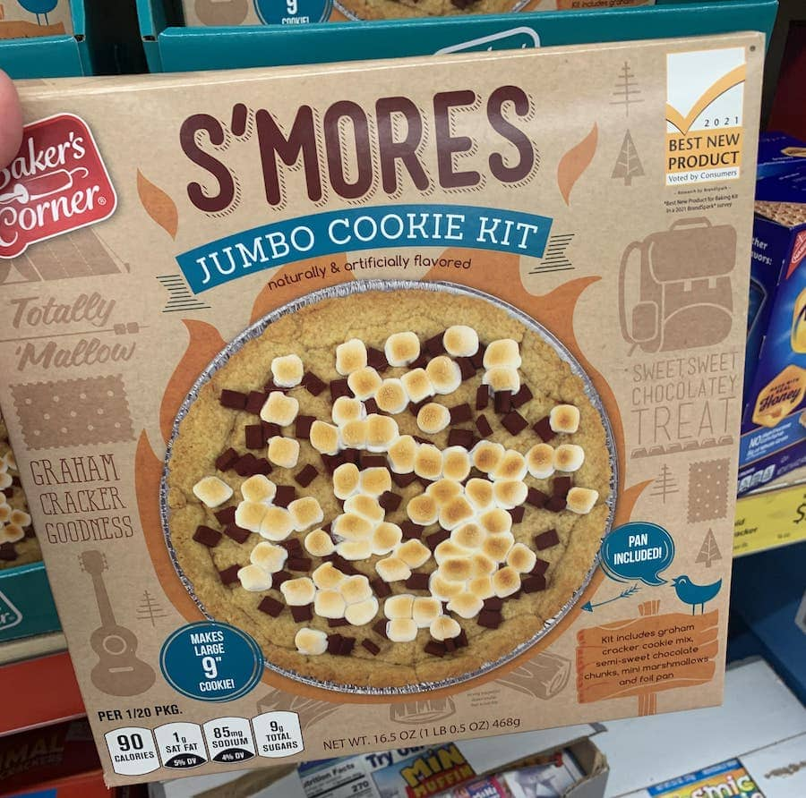Aldi Foods Fall S'Mores Cookie Kit