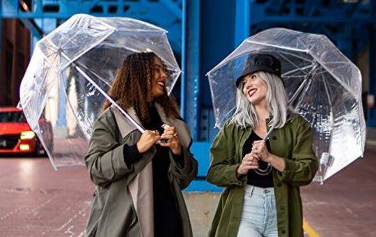 bubble umbrellas